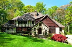 Take a tour of Tudor revival homes for sale and learn about Tudor revival architecture.