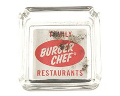 """Remember when you could actually smoke in restaurants? This Burger Chef-branded ashtray came from the set of """"Mad Men"""""""