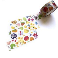 Animal Crossing Washi Tape Isabelle ACNL Washi Tape Pocket
