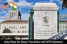 India Plans for Easier Visa Rules with WTO Members