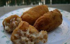 Shrimp croquettes