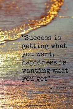 Success vs happiness