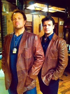 A couple of Browncoats on Castle