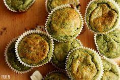 Taste Your Life - blog kulinarny : Szpinakowe muffinki.