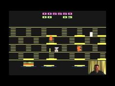 Joes Versus The Atari 2600 - Burgertime with Mike