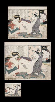 Traditional Paint, Japanese Prints, Japan Art, Gravure, Woodblock Print, Erotic Art, All Art, Les Oeuvres, Vintage World Maps