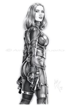 Black Widow Winter Soldier II - FTW by Armando-Huerta on deviantART