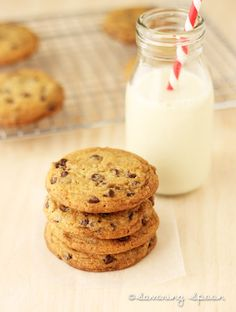 vegan: chocolate chip cookies...