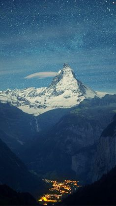 Matterhorn and Zermat Switzerland