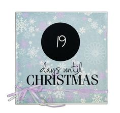 Countdown To Christmas Canvas