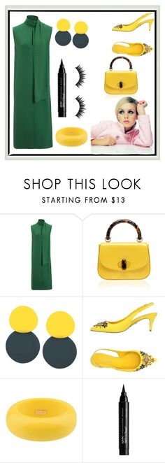 """Twiggy Series #4"" by carotomboy ❤ liked on Polyvore featuring Joseph, Le Silla, Dsquared2, NYX and Morphe"
