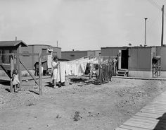 1944 housing. Photo courtesy of LANL.