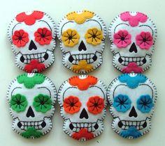 dia de los muertos -- these are beautiful!