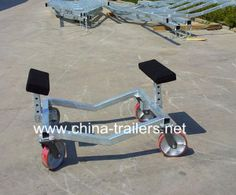 Small Boat Trailer Dolly China, Find details about China Boat Dolly, Boat Trolley from Small Boat Trailer Dolly China - Qingdao Guitong Special Trailers Co. Trailer Dolly, Boat Trailer, Bass Boat Ideas, Toy Hauler Trailers, Lightweight Trailers, Pontoon Boat, Small Boats, China, Hot