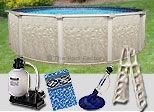 Now we offer the complete pool packages with swimming pool, ladder, vacuum cleaner, filter and pool liner. Semi Above Ground Pool, In Ground Pools, Semi Inground Pools, Solar Pool Cover, Pool Covers, Pool Ladder, Pool Chemicals, Pool Equipment, Pool Supplies