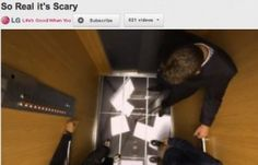 [VIDEO] LG's Scary Elevator Video and the Hype of Prank Marketing—Well worth watching!
