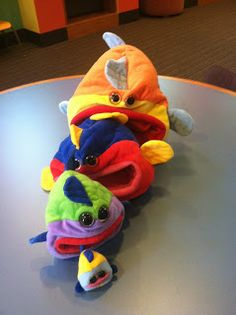 """Filmore Fish and Friends"" Puppet Story ~ so tomorrow"