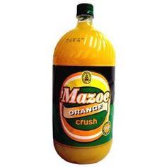 Mazoe Orange Crush - The ONLY orange squash worth drinking! Zimbabwe Africa, Zimbabwe Food, African Life, Biltong, Taste Of Home, Orange Crush, My Childhood Memories, Fruit Recipes, The Good Old Days