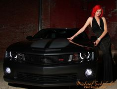 Claire with Camaro 1 - by Michael Schofield Photography schofieldphotos.com