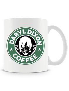Caneca Daryl Dixon Coffee - R$ 29,90 - Uma Loja de Caneca  #thewalkingdead #walkingdead #zumbis #coffee #cafe #canecas #mugs
