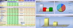 Advanced Financial Statement Analysis  templates in docs and excel