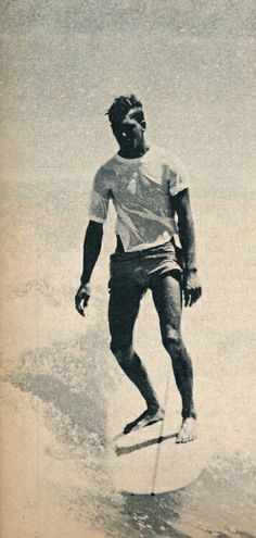 vintage surfer dude...this is such an amazing photograph