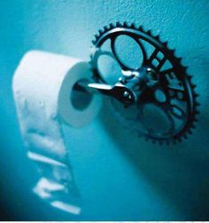 Toilet paper holder [this appears to be a bike gear/pedal, no other info ~ ksd]