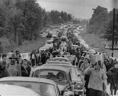On August 15, 1969, the Woodstock Music Festival opens on a patch of farmland in the upstate New York town of Bethel.  Where you there?
