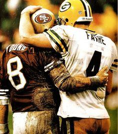 Steve Young & Brett Favre