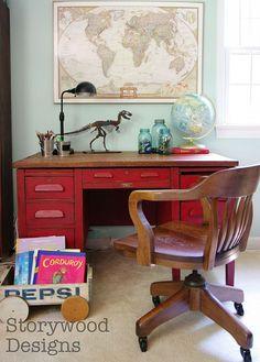 Hometalk | A Teacher's Desk Before and After