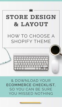You're ready to set up shop on Shopify, and you're ready to choose a design theme. Some themes will work well for your particular business, and some won't. How to decide? Click to read on, or pin to save or read later!