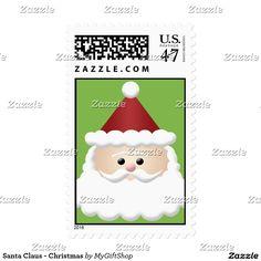 Santa Claus - Christmas Stamp