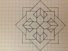 grid paper drawings - New Grid Paper Drawings, pin by elizabeth hart on art in 2019 graph paper art paper art Geometric Art, Easy Drawings, Pixel Art, Geometric Drawing, Art Worksheets, Islamic Art Pattern, Graph Paper Drawings, Paper Drawing, Paper Art