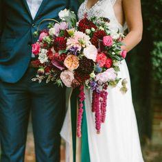 touch of boho jewel toned wedding inspiration dahlia wedding bouquets jewel tone wedding and Autumn Wedding, Boho Wedding, Floral Wedding, Summer Wedding, Dream Wedding, Wedding Blue, Trendy Wedding, Wedding Turquoise, Wedding Pins