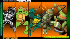 Michelangelo has consistently been the most fun loving member of the group in all incarnations of the Ninja Turtles. Read the TMNT Michelangelo Bio Ninja Turtles Art, Teenage Mutant Ninja Turtles, Tmnt Mikey, Tmnt 2012, Phineas And Ferb, Cartoon Crossovers, Bowser, Leo, Ninja Turtles