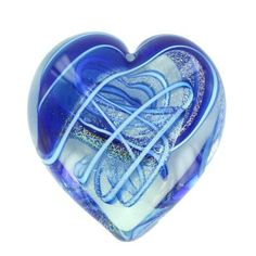 """Heart Paperweight"" by Glass Eye Studio"