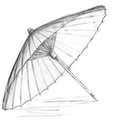 Umbrella, Chinese Sun Screen, China, Japan, Japanese Umbrella, Public Domain, Free Stock, CC0, Creative Commons - by Alexandru Petre
