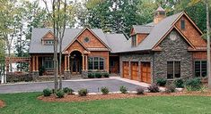 Craftsman House Plans Lake Homes View Plans Lake House, house plans for craftsman style homes . Craftsman Style House Plans, Cottage House Plans, Cottage Homes, Craftsman Homes, Craftsman Exterior, Craftsman Ranch, Cottage Exterior, Rustic House Plans, Stone House Plans
