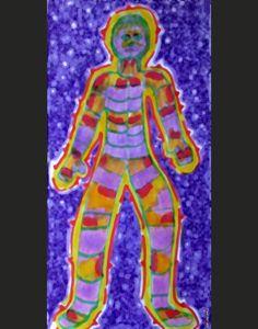 """Featured Pain Art: """"Fibromyalgia Pain Body"""""""