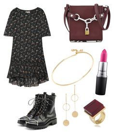 For young teengers get to party night! by indahif on Polyvore featuring polyvore Yves Saint Laurent Alexander Wang Trina Turk Tiffany & Co. Cloverpost MAC Cosmetics fashion style clothing