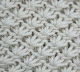 knitting stich library, divided into kint & purl, ribs, cables & twists, and eyelets & lace