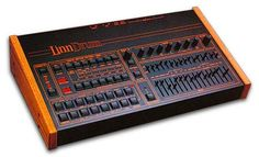 LinnDrum--with wooden side panels (1980s).