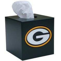 Packers Kleenex Boxes | Green Bay Packers Tissue Box Cover