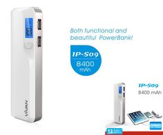 Jual Power Bank Vivan IP-S09 - 8400 mAh Original
