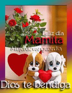 Feliz día mamita, Dios te bendiga - Tarjetas con mensajes cristianos