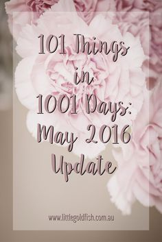 101 Things in 1001 Days: Day Zero Project