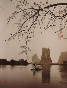 Fishing on Spring Morning, Guilin