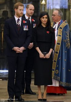 Mad About Meghan: Meghan Joins The Princes for Anzac Day Service of Commemoration and Thanksgiving!