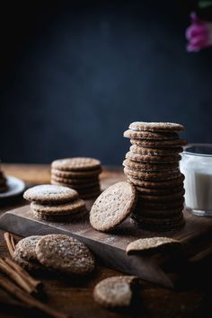 Buckwheat Graham Crackers + Cinnamon Vanilla Coconut Milk - The Kitchen McCabe