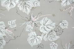 1950s Botanical Vintage Wallpaper – Hannah's Treasures Vintage Wallpaper